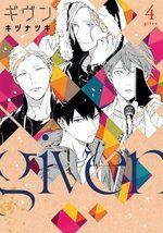 Given 4 Manga