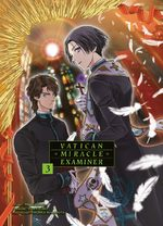couverture, jaquette Vatican Miracle Examiner 3