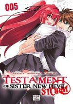 The testament of sister new Devil - Storm! 5 Manga