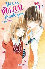 This is not love, thank you 1 Manga