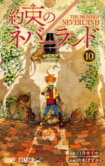 The promised Neverland 10 Manga