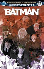Batman Rebirth # 16