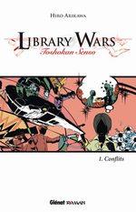 Library Wars 1 Roman