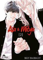 couverture, jaquette Asa et Mitya 2