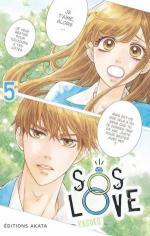 couverture, jaquette SOS Love 5