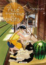 couverture, jaquette La Fille du Temple aux Chats 4
