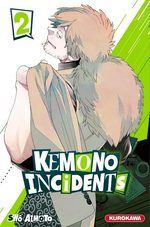 Kemono incidents 2 Manga