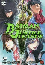 Batman & the justice League 2 Manga
