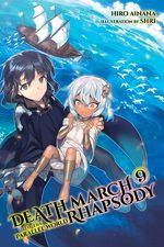 couverture, jaquette Death March kara Hajimaru Isekai Kyusoukyoku 9