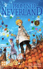 The promised Neverland 9 Manga