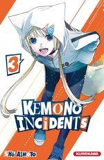 Kemono incidents 3 Manga