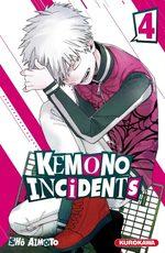 Kemono incidents 4 Manga