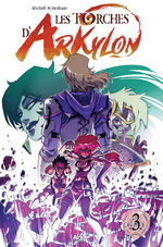 Les torches d'Arkylon 3 Global manga