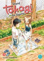 Quand Takagi me taquine 4 Manga
