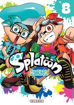 Splatoon 8 Manga