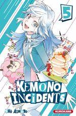 Kemono incidents 5 Manga