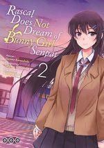 Rascal Does Not Dream of Bunny Girl Senpai T.2 Manga