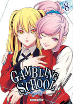 Gambling School Twin 8 Manga