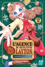 L'agence de détectives Layton - Katrielle et les enquêtes mysterieuses 2 Manga