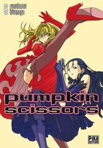 couverture, jaquette Pumpkin Scissors 6