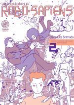 Une brève histoire du robo-sapiens 2 Manga