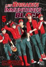 Les Brigades Immunitaires Black 5 Manga