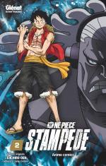 couverture, jaquette One Piece Stampede 2