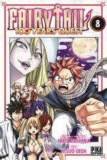 Fairy Tail 100 years quest 8 Manga