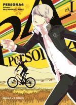 couverture, jaquette Persona 4 1