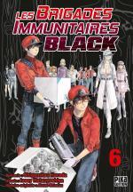 Les Brigades Immunitaires Black 6 Manga
