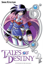 Tales of Destiny 4 Manga
