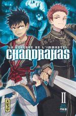 Chandrahas, La Légende de l'Immortel 2 Manga