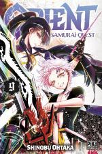 couverture, jaquette Orient - Samurai quest 9