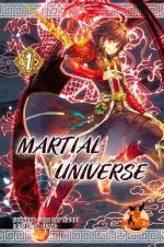 couverture, jaquette Martial Universe 1