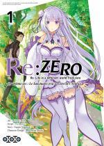 Re:Zero - Re:Life in a different world from zero - Quatrième arc : Le Sanctuaire et la sorcière de l'Avarice 1 Manga