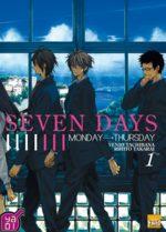 couverture, jaquette Seven Days 1