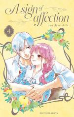 couverture, jaquette A Sign of Affection 4