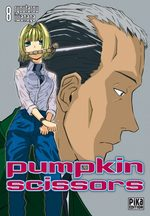 Pumpkin Scissors 8 Manga