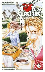 J'aime les sushis 6 Manga