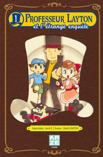 Professeur Layton et l'étrange enquête T.1 Manga