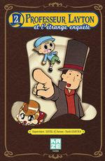 Professeur Layton et l'étrange enquête 2 Manga
