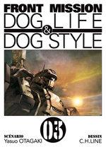 Front Mission Dog Life and Dog Style 3 Manga