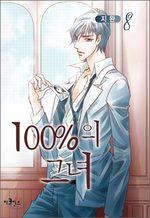 couverture, jaquette 100% Perfect Girl Coréenne 8