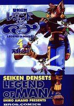 Seiken Densetsu - Legend of Mana 4 Manga