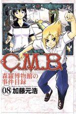 C.M.B. - Shinra Hakubutsukan no Jiken Mokuroku 8 Manga