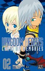 Kingdom Hearts Chain of Memories 2 Manga