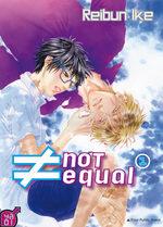 ≠ not equal T.1 Manga