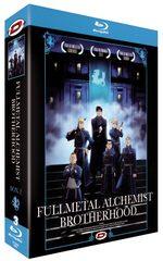 couverture, jaquette Fullmetal Alchemist Brotherhood Blu-ray 2