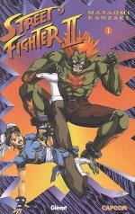 Street Fighter II 1 Manga