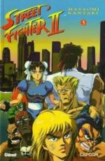 Street Fighter II 3 Manga